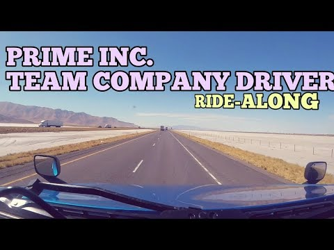 Ride- a-Long from Utah to Nevada| Team Truck Drivers | Reefer Division Prime Inc.