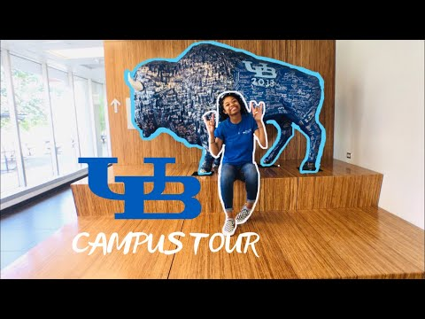 University at Buffalo Campus Tour  Back to School 2019