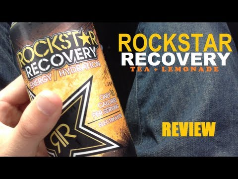 Rockstar Recovery Tea + Lemonade - Energy Drink Review #97