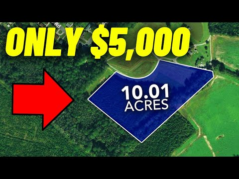 Top 10 Places In America To buy Cheap Land (Land for sale)