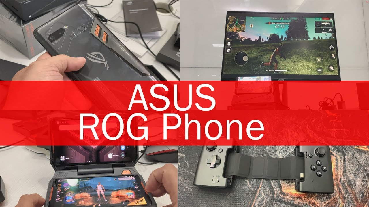 Asus Rog Phone Gamevice Controller Dock Mobile Desktop Dock