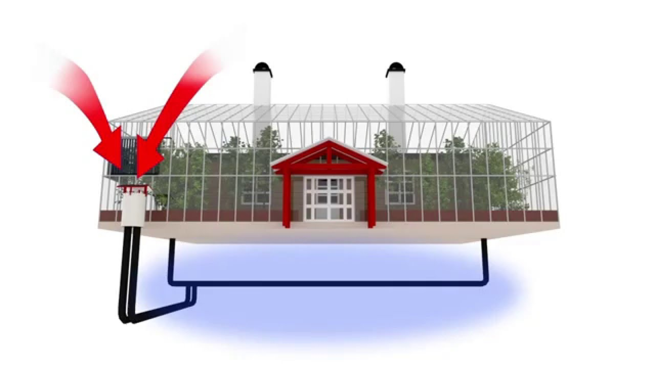 Green home designs living inside a greenhouse with for Green living house plans