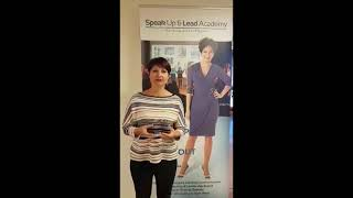 Speak Up Masterclass - Testimonial Ulrike Seminati