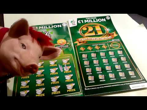 Millionaire Bonus Scratchcard Game...'21'Green...Monopoly..and More