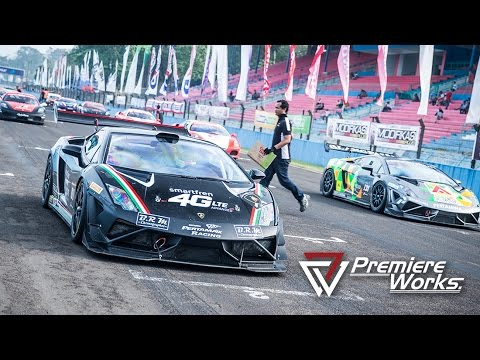 Premiere Works: Lamborghini Jakarta on Indonesian Series of Motorsport (Sentul, Indonesia)