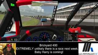 Brickyard 400 - The 2014 IRacing Nascar Series Indianapolis Complete Race