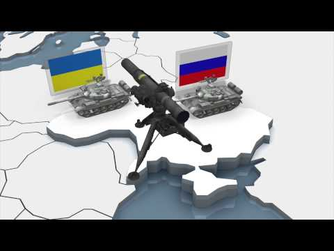 Ukraine conflict: government and pro-Russian separatists military arsenals explained in 3D