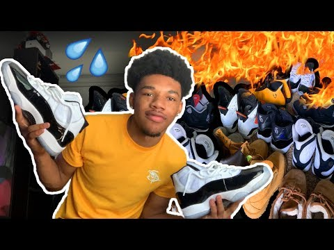 My Sneaker Collection With Only 250 Subscribers! $5,000?! (Jordan + Nike) 2019 Mp3