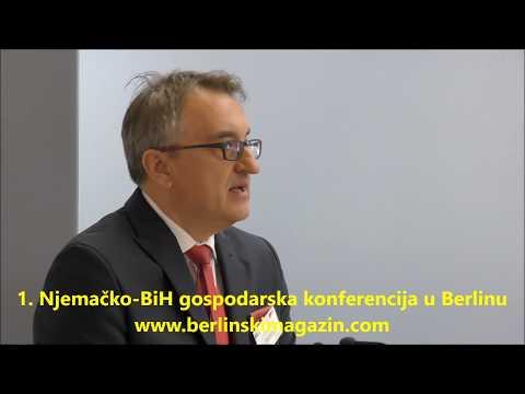 Prva BiH - njemačka gospodarska konferenciaja. Berlin 12.05.2017