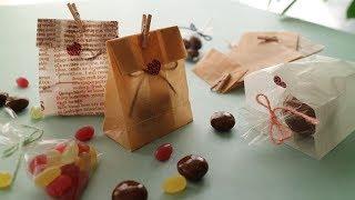 プレゼント入れちゃおう♪ワックスペーパーで作る可愛いミニ袋!