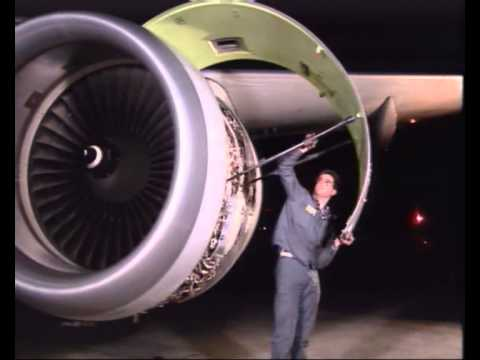 Opening And Closing Of Cfm Engine Cowl Doors Youtube