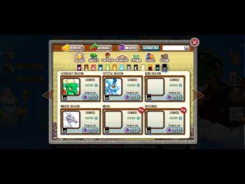 Novo Dragon City vem com 1 bilhão de gemas 1 bilhão de gold e 1 bilhão de food