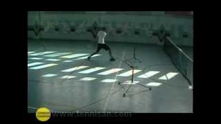 Теннисные треажеры. Работа ног (footwork) в теннисе