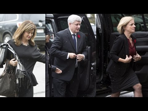 Raw Video: Dignitaries arrive at Jim Prentice's memorial