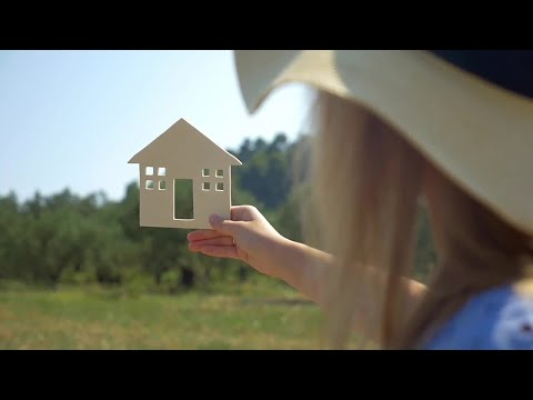 Wooden Country House Concept  Stock Video