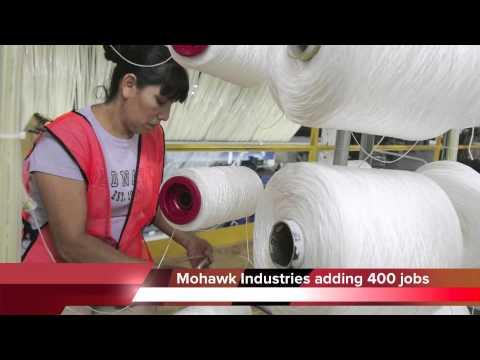 Mohawk Industries adding 400 new jobs in Dalton, Georgia