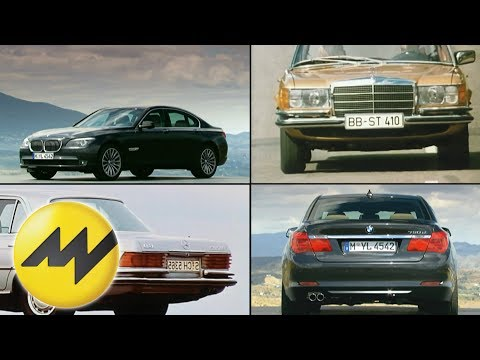 Mercedes S-Klasse vs. BMW 7er