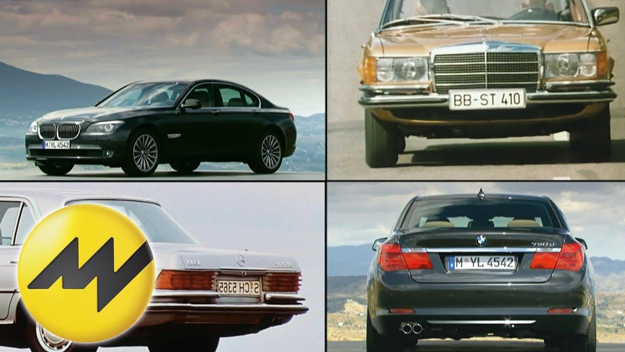 Mercedes S Klasse Vs Bmw 7er Youtube