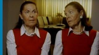 אחיות תאומות ניצולות שואה מתארות את הגעתן לאושוויץ