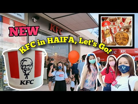NEWLY OPEN KFC In Haifa, Israel NAPUNTAHAN MO NA BA? LET'S GO, WE WILL GUIDE YOU | Emz Amita