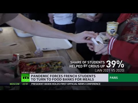 French students turn to food banks as country buckles under 3rd wave of COVID