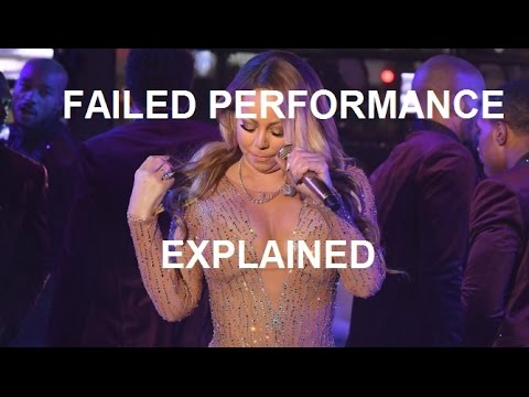 Mariah Carey New Year's Eve failed performance EXPLAINED
