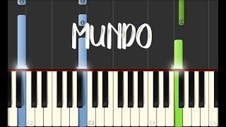 MUNDO - IV Of Spades || Synthesia Piano Tutorial