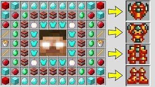 GİZLİ BİLİNMEYEN BÜYÜK HEROBRİNE ZIRH'LARI NASIL YAPILIR? - Minecraft