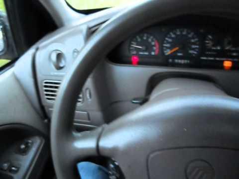1999 Mercury Villager 7 Penger Mini Van