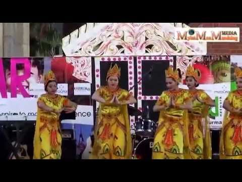 Bagan Group Dance - Darling Harbor Myanmar Food & Culture Festival 2014