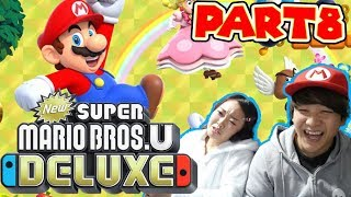 【Part8】マリオブラザーズをさとゆいでプレイしてみたらwww【NewスーパーマリオブラザーズUデラックス】