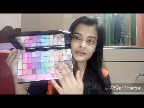 Most Affordable makeup kit || Full Face Makeup using TYA laptop makeup kit
