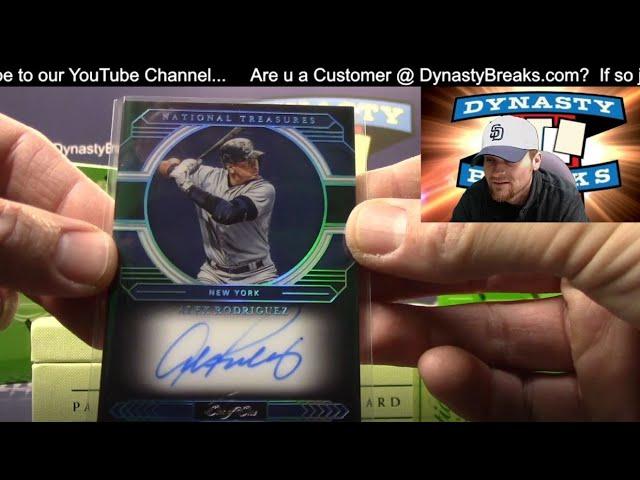 2020 National Treasures Baseball Card 4 Box Case Break #5   Sports Cards