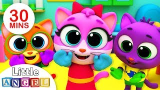 Baby Kittens Have Lost Their Mittens | No No Safety Tips | + More Nursery Rhymes by Little Angel