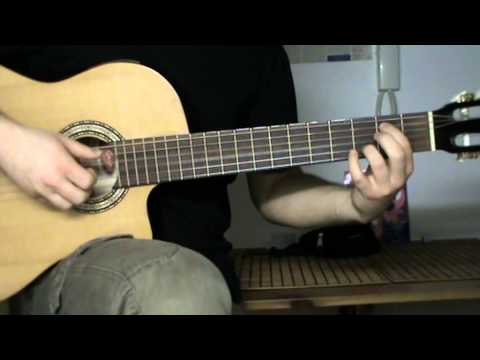 Nick Drake - Time has told me - guitar lesson with tab