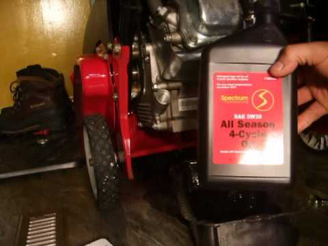 snow blower tune up 123cc craftsman youtube. Black Bedroom Furniture Sets. Home Design Ideas