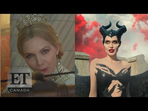 Angelina Jolie and Michelle Pfeiffer face off in 'Maleficent 2' trailer