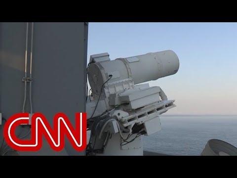 Watch the US Navy's new laser weapon in action