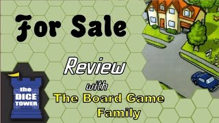 For Sale Review - with the Board Game Family