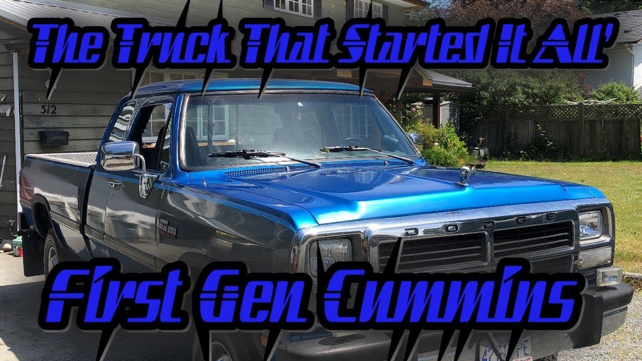 First Gen Cummins Turbo Diesel The Engine + Truck That Saved Ram! (Minty First Gen Reveal)