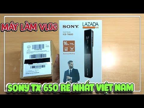 Review Sony TX 650 Làm Vlog Youtuber Rẻ Nhất Việt Nam Lazada | Văn Hóng
