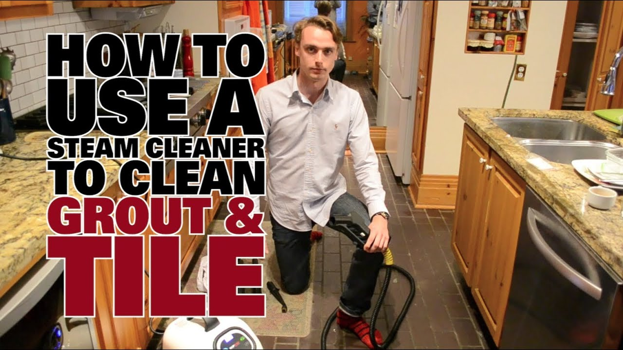 How to steam clean grout tile dupray youtube how to steam clean grout tile dupray dailygadgetfo Image collections