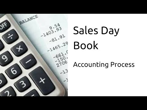 What is Sales Day Book Journal   Subsidiary Books   CA CPT   CS & CMA Foundation   Class 11