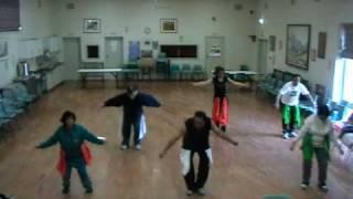 Dance chakde india practice