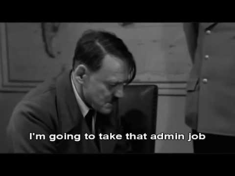 Hitler finds out Sam Warburton got sent off
