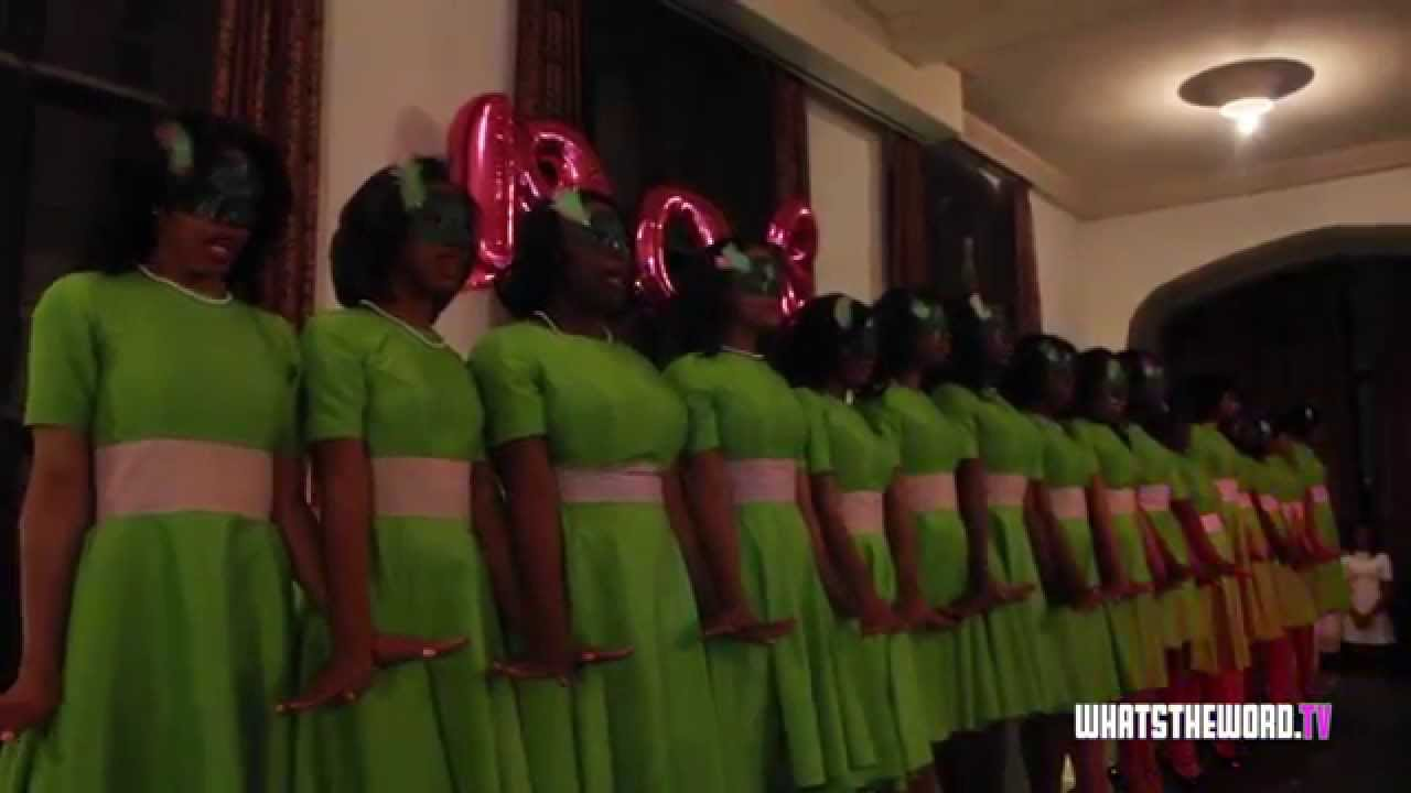 Alpha Kappa Alpha Sorority Inc Beta Chapter Probate Fall