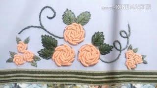 Bullion Stitch Flower Crochet