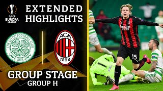 Celtic vs. Milan: Extended Highlights | UCL on CBS Sports