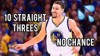 There's NO CHANCE of WINNING, when KLAY THOMPSON is HITTING! || Part 1