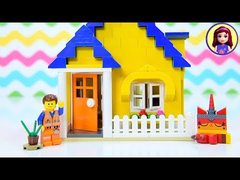 Emmet's Dream House For A Picture Perfect Life - Lego Movie 2 Build Review Kids Toys